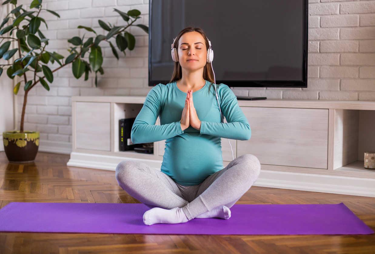 Relaxácia a dýchanie pre zdravé, pohodové tehotenstvo a lepší pôrod