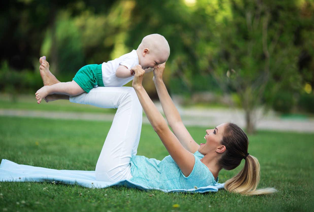 Baby jóga s fyzioterapeutkou