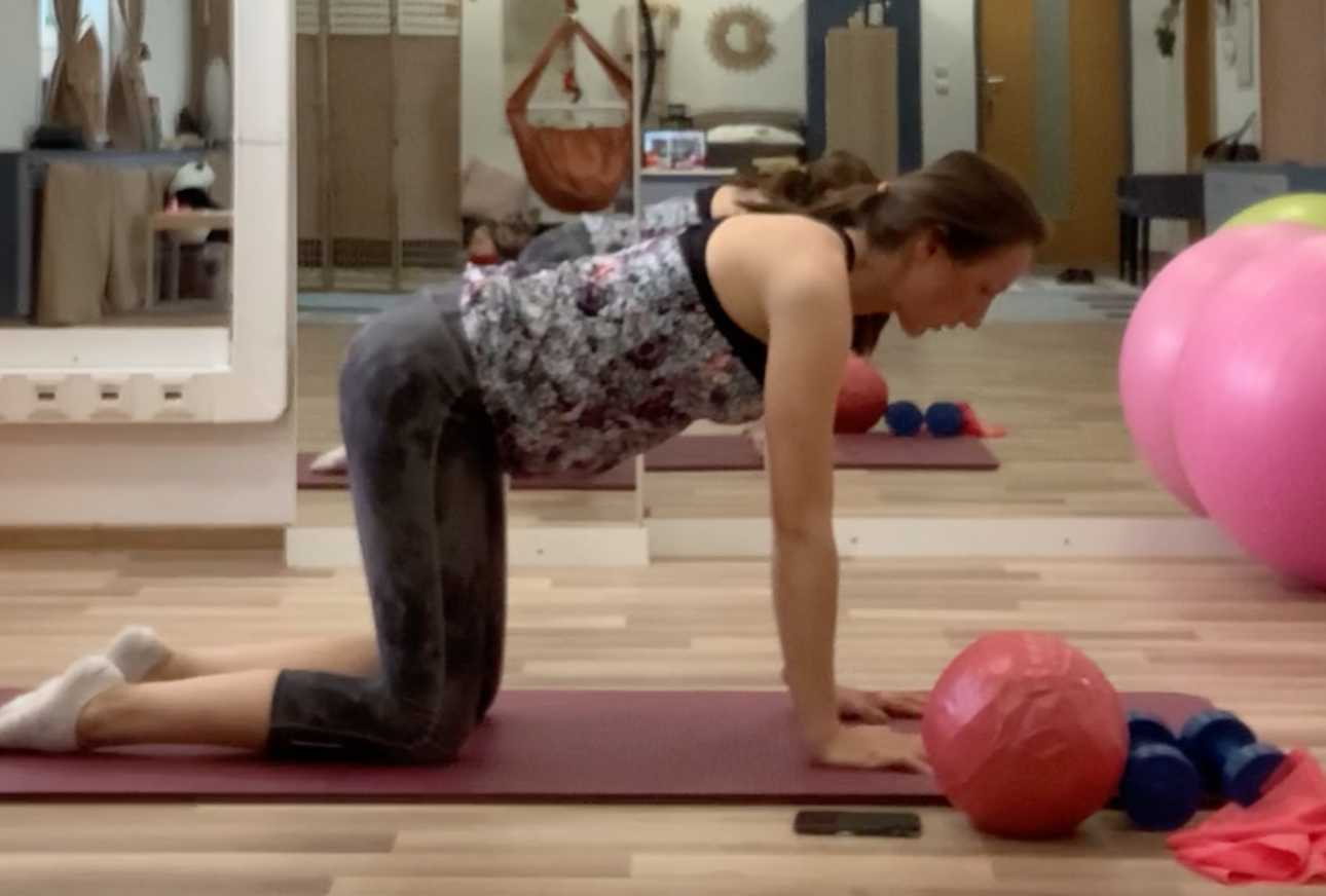 Tehotenské cvičenie sLuckou